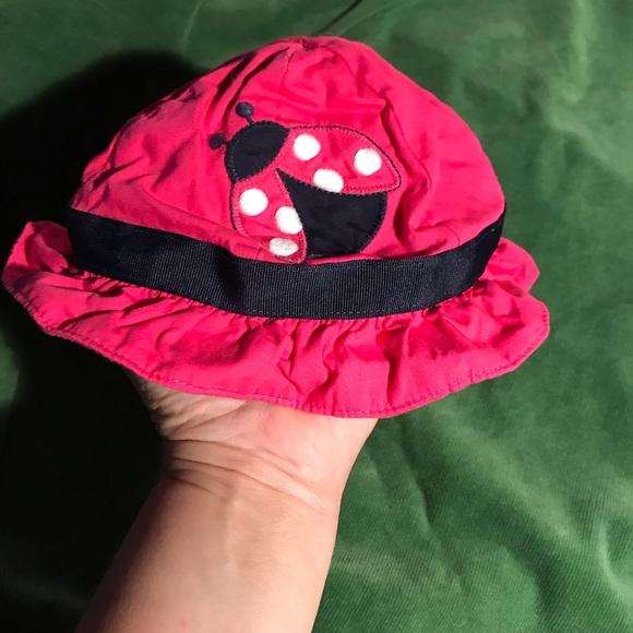Gymboree Brand New Baby Cap Size 0-3 M Hat Pink Dog NEW
